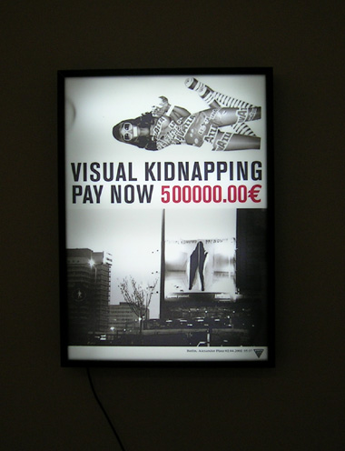 VISUAL KIDNAPPING, PAY NOW